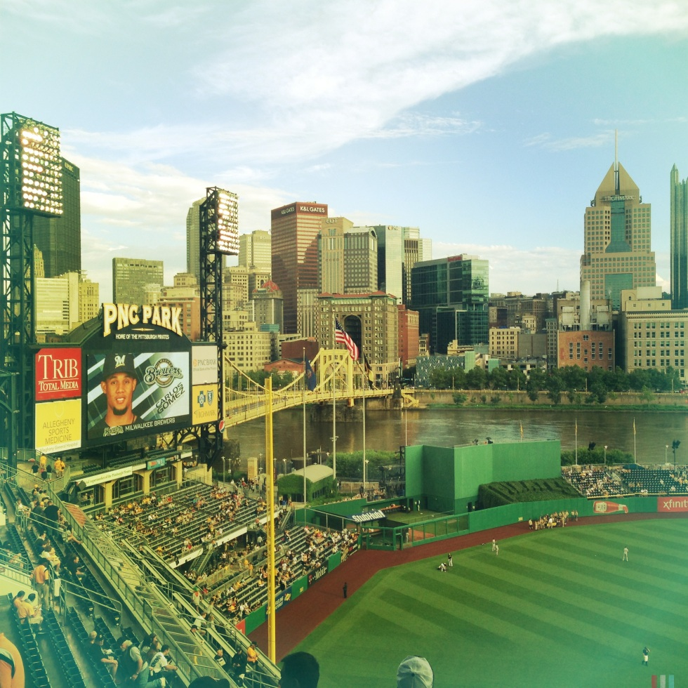 PNC Park, Pirates v Brewers, June 2013
