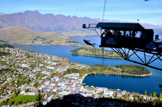 putting all my faith in a rope - Queenstown, New Zealand