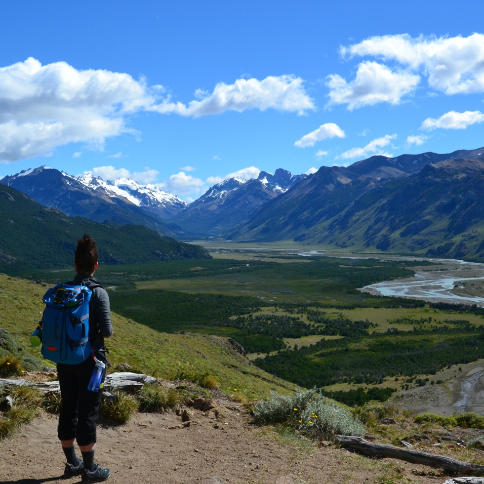 Hiking up to Fitz Roy