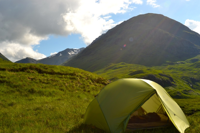 Sunshine at Glen Coe