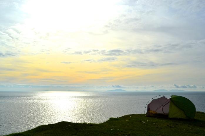 campsite #4 Neist Point, Isle of Skye
