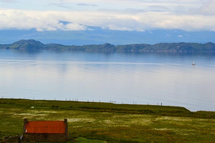 somewhere on the western coast of scotland