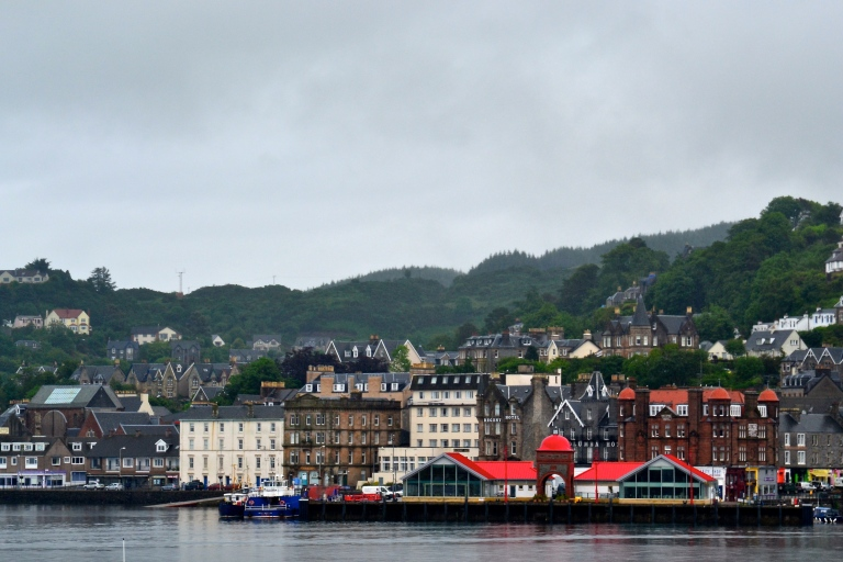 Oban. I literally have zero photos of Glasgow as I was too busy...playing.