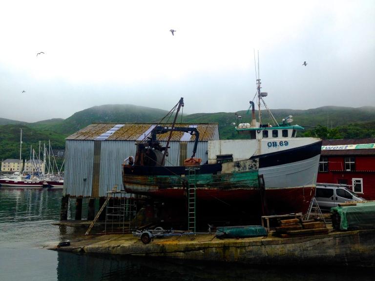 boat in Mallaig