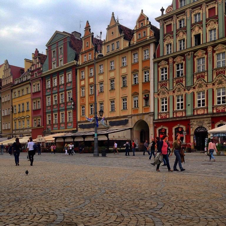 Market Square, Wrocław, Poland