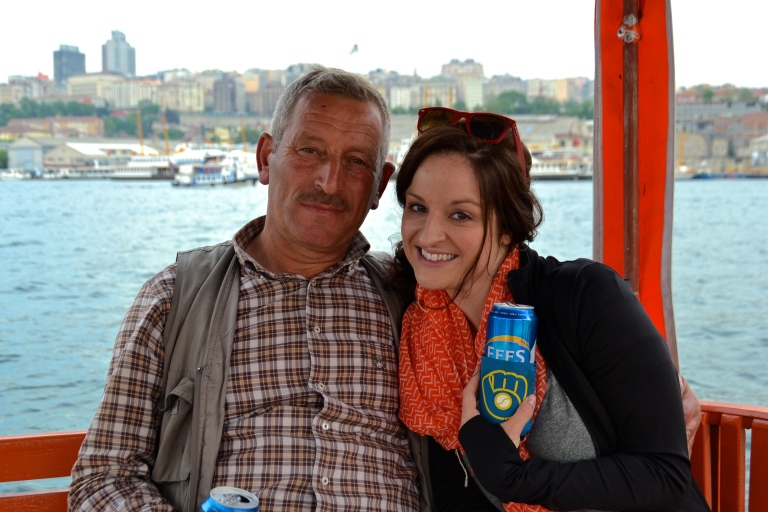 So salud, na zdrowie, cheers, to all travelers everywhere, past, present and future, from me and this crazy Bosphorus river boat driver in Istanbul.