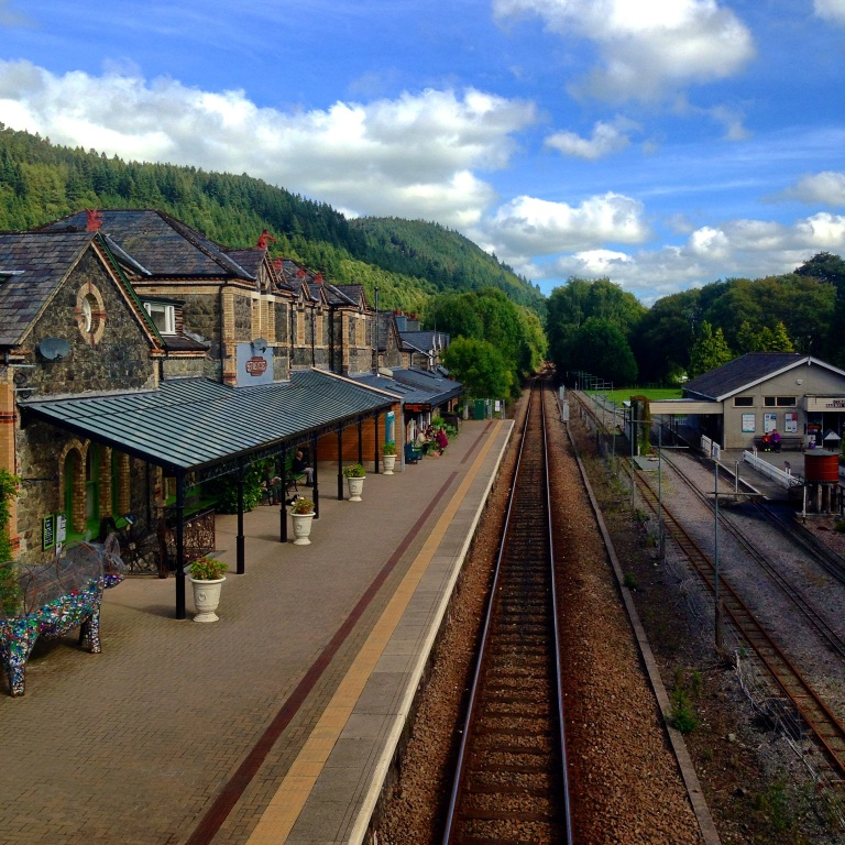 Train station, Bewts-y-Coed, Wales