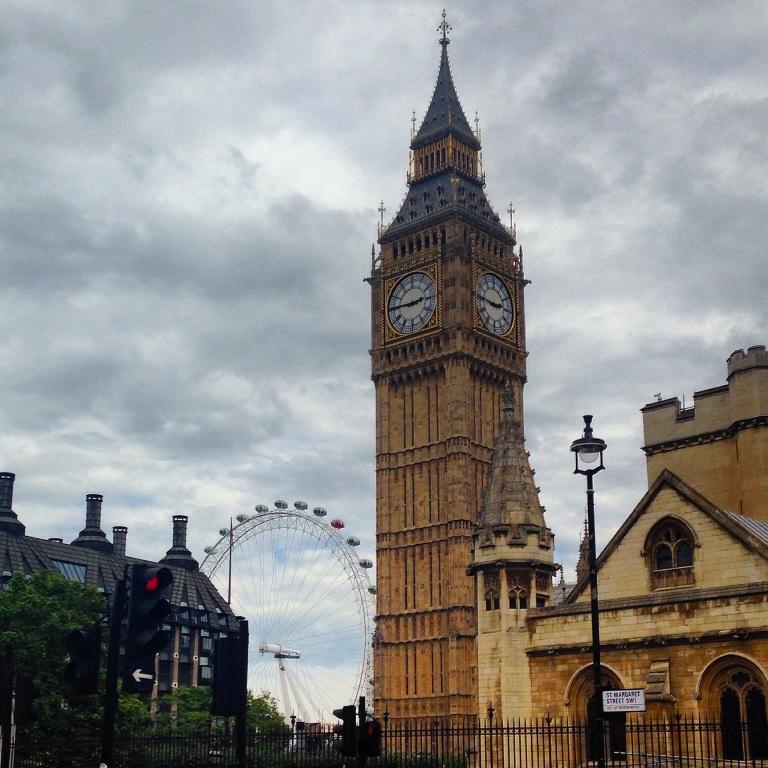 Big Ben, London Eye, England