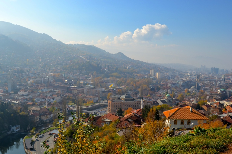 View from Yellow Bastion, Sarajevo