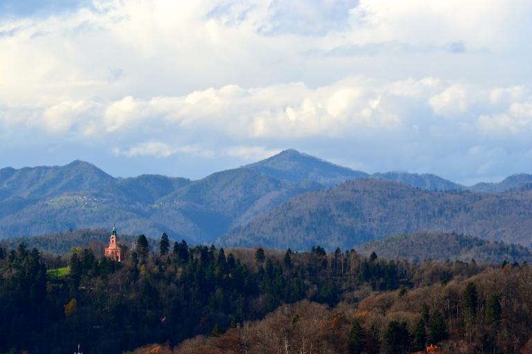 View from Ljubljana Castle, Slovenia