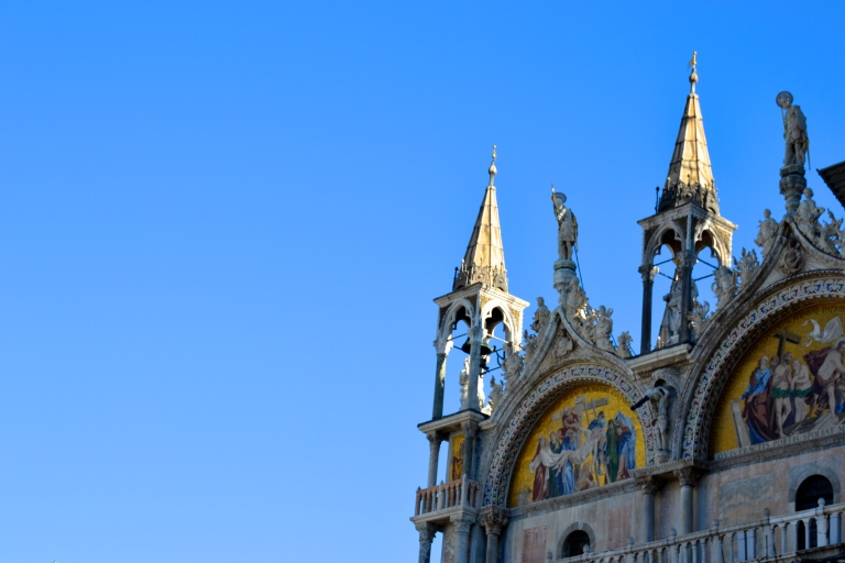 Basilica di San Marco - it was under construction when I went - except for this corner.