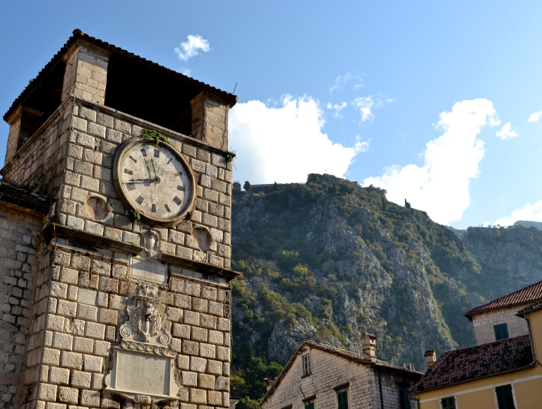 Time in Kotor, Montenegro
