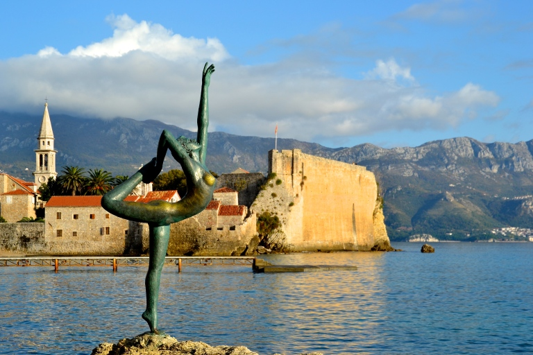 Absolute freedom in Budva, Montenegro