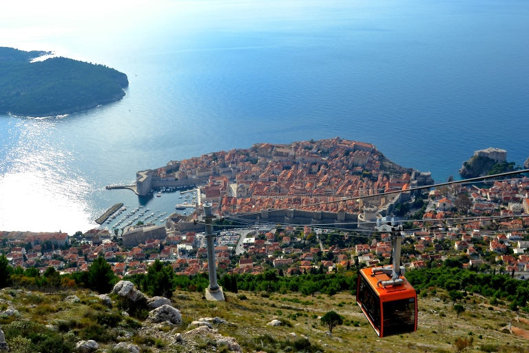 Cable car to Mount Srd, Dubrovnik, Croatia