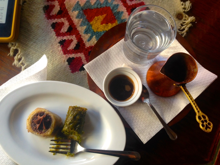 Baklava and Bosnian coffee