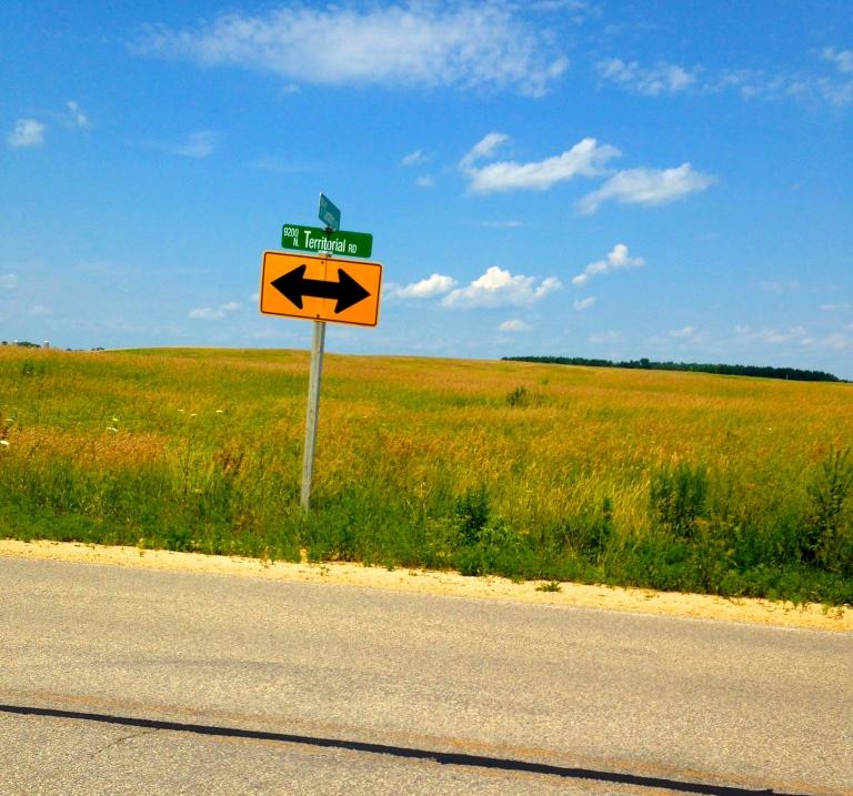 Biking around Wisconsin.