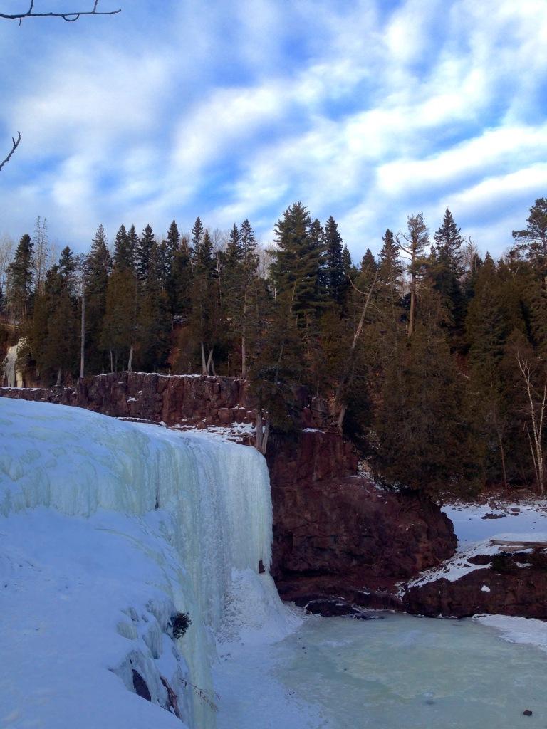 Frozen Gooseberry Falls