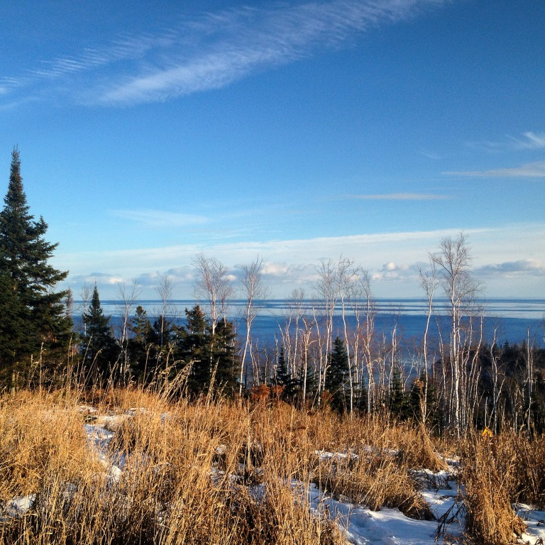 View of Lake Superior from Split Rock Lighthouse State Park