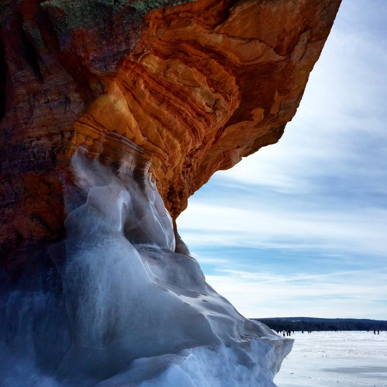 Mother Nature at her finest. Ice Caves on Lake Superior, WI